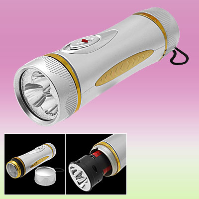 3 White LED Flashlight with Shaver for Shaving & Lighting