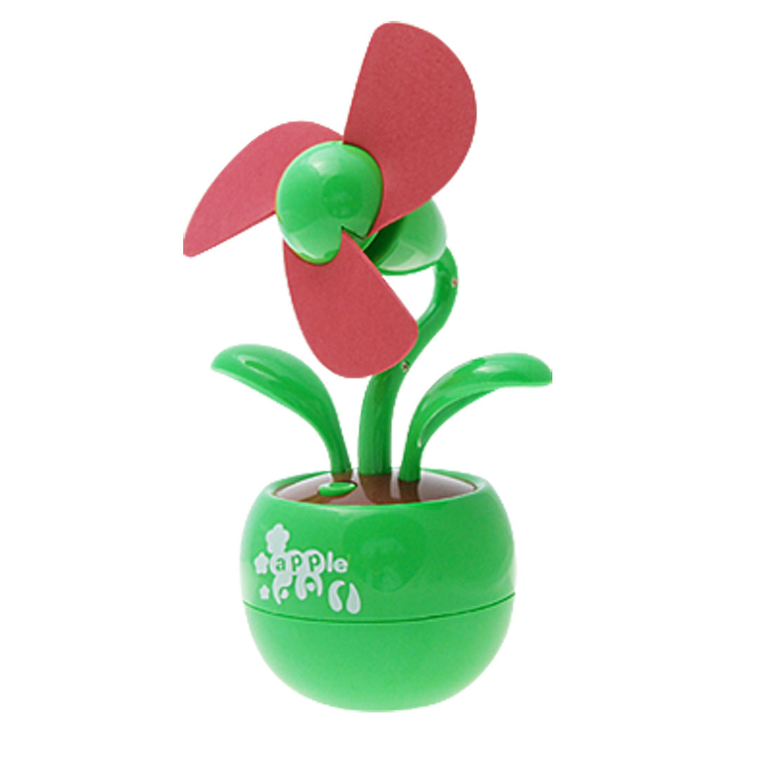 Flower Red Green Apple USB Fan for PC / Laptop
