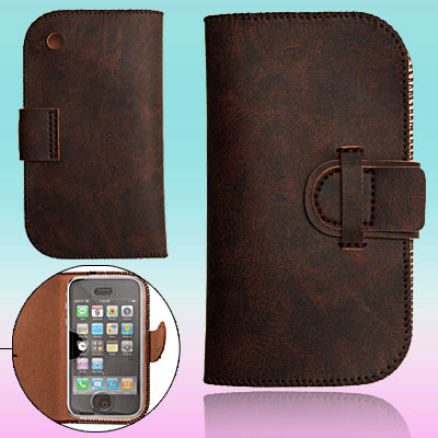 Soft Flap Leather Case Cover for Apple iPhone 1st Generation
