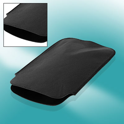 Black Leather Pouch Sleeve Case Cover for Apple iPhone 3G / 3GS