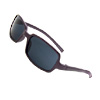Fashion Children's Sunglasses Purple Arms Black Lens