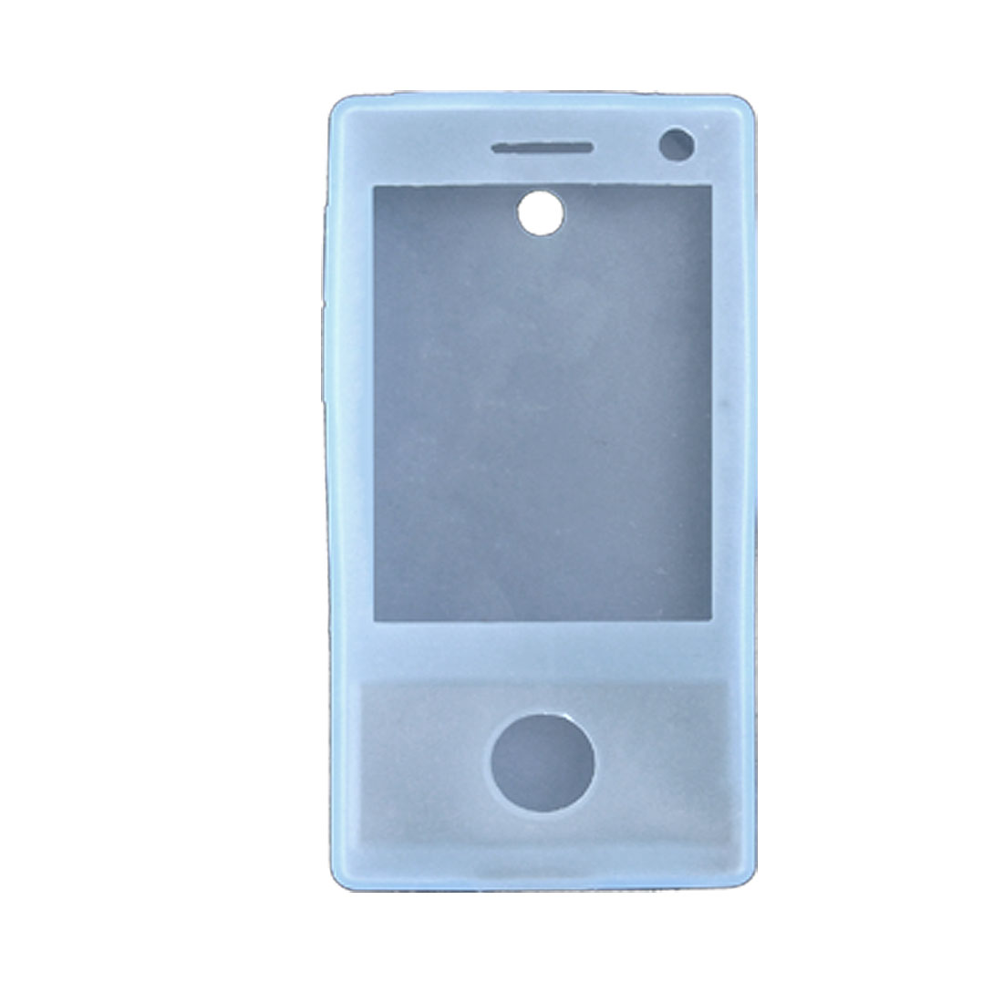 Blue Soft Silicone Cover Protector for HTC Touch Diamond