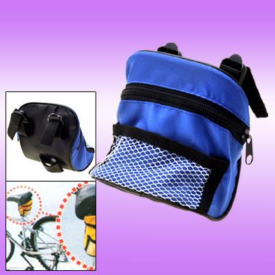 Fashion Nylon zipper Blue Bicycle Bag for Phone 3G
