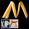 Martial Arts Karate TaeKwonDo Chain Yellow and White Belt