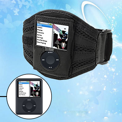 Gym Sports Armband Case Holder for Apple iPod Nano 3rd Gen 3G