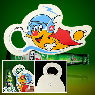 UFO Beer Metal Bottle Cap Beer Beverage Bottle Opener Colorful