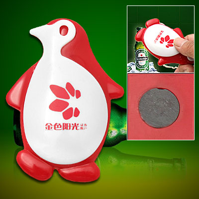 Magnetic Cute Cartoon Penguin Beer Beverage Bottle Opener
