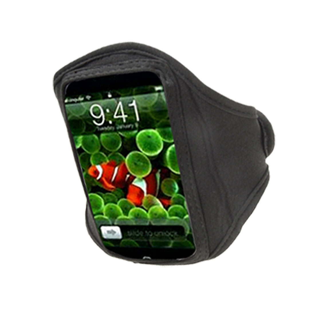 Adjustable Armband Holder Black for iPhone 3G 3GS