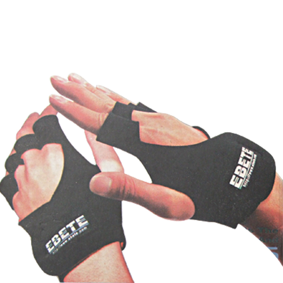 Pair Detachable Body Glove Anti-Slip Sports Gloves Protector Small