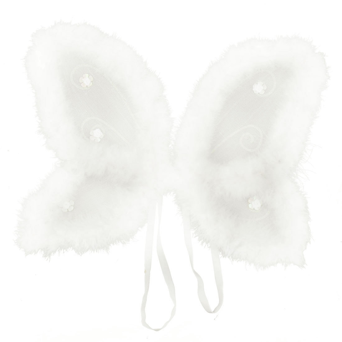 Lovely Plush X'Mas Christmas Angel Butterfly Wing