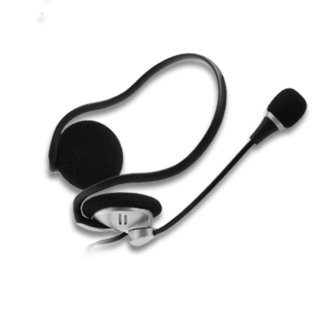 Stereo Computer Volume Adjustable 3.5mm Headphones with Microphone