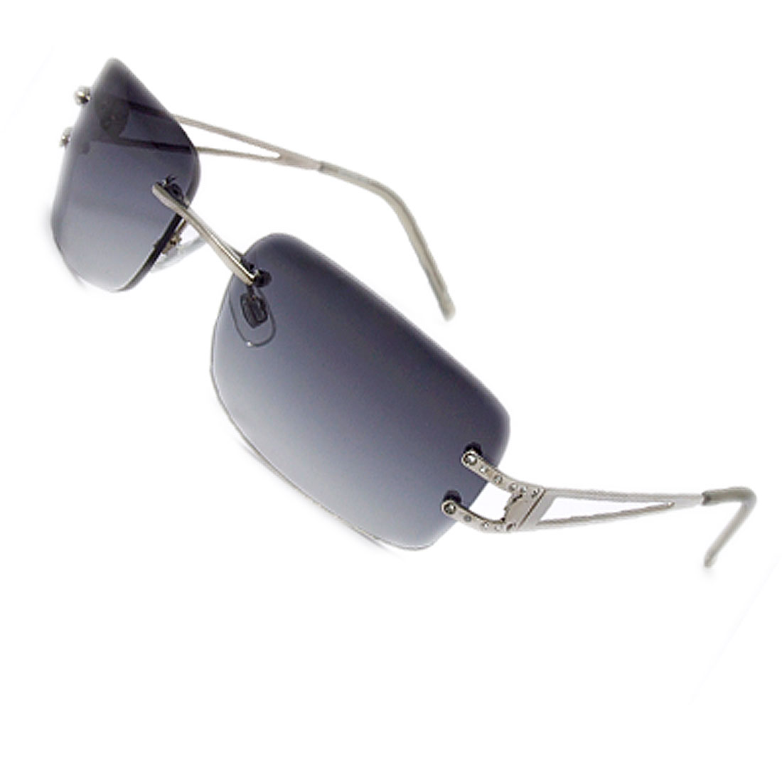 Light Weight Fashion Unisex Slim Metal Arms Sunglasses