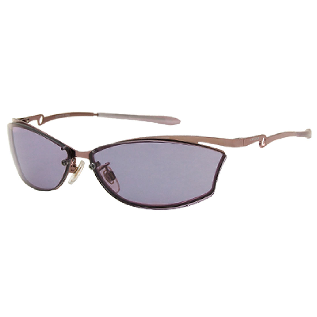 Fashion Metal Arms Purple Ladies' Protective Eyewear Sunglasses