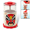 Classical Chinese Opera Mask Automatic Toothpick Holder