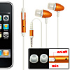 In-Ear Stereo Earphone Microphone with Clip for Apple iPhone 3G