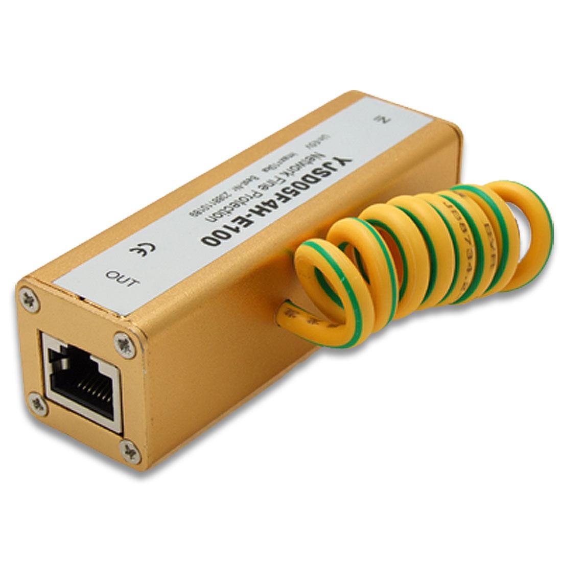 RJ45 Ethernet Network Thunder Lightning Arrester Surge Protector