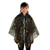 Spider Web Halloween Black Cape Costume Accessory