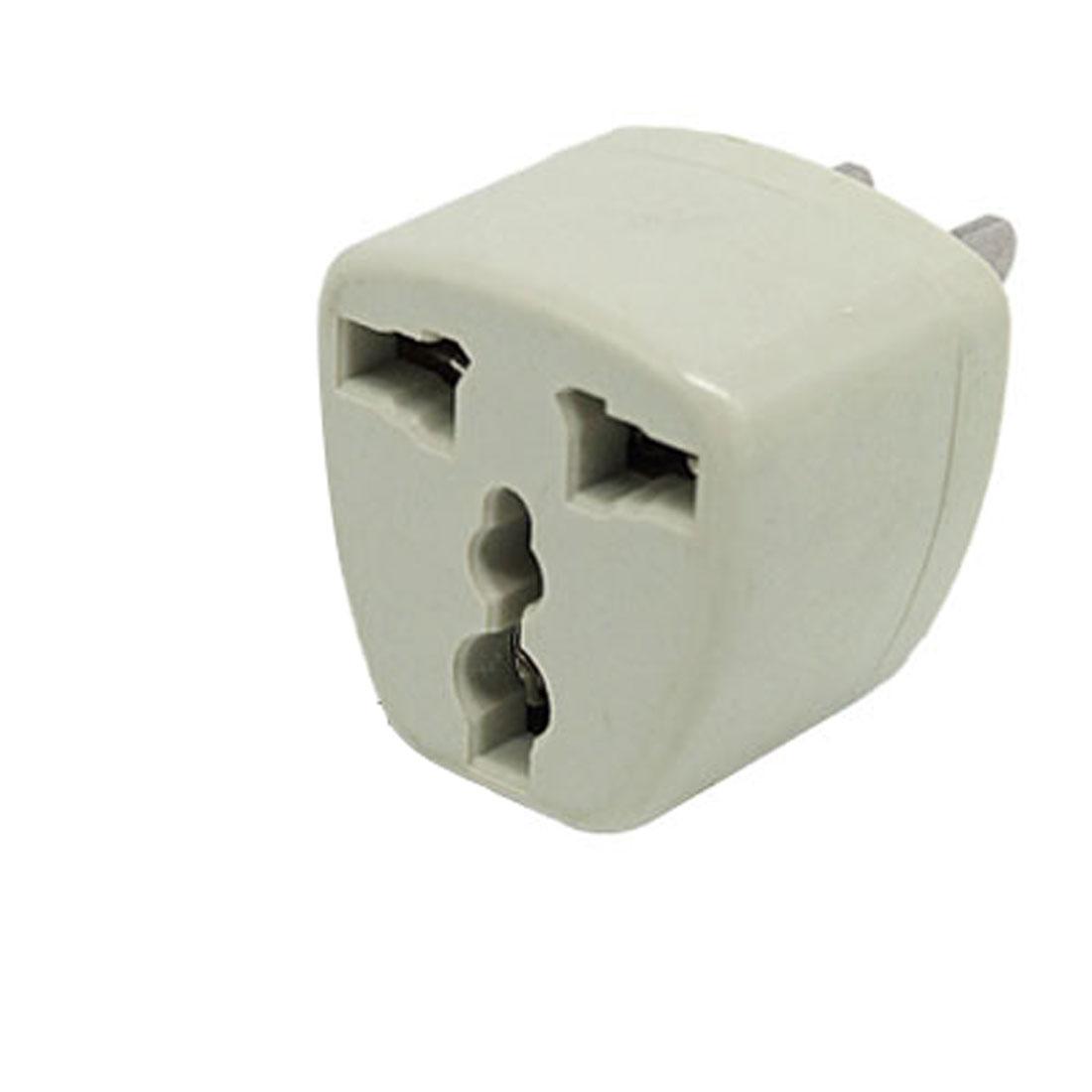 AC250V 10A US Plug to EU UK AU Socket Travel AC Power Adapter