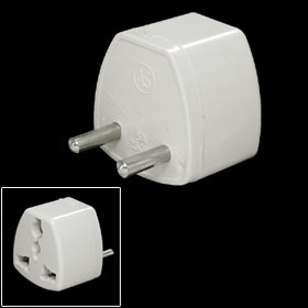 Universal AU US UK to 2 Pin EU Travel AC Power Adapter Converter