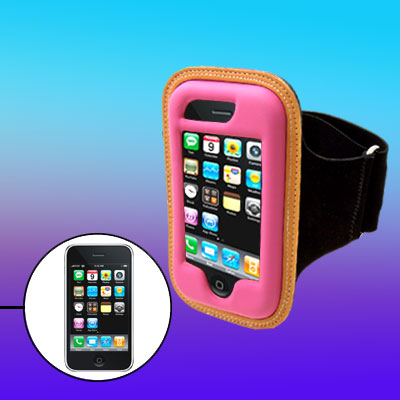 Portable Charm Sport Neoprene Armband Case Holder for Apple iPhone 3G