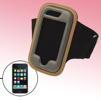 Neoprene Black Sport Armband Case Holder for Apple iPhone 3G