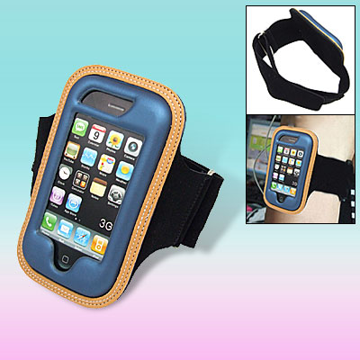 Sport Gym Leather Armband Jacket Case Cover Holder for Apple iPhone 3G