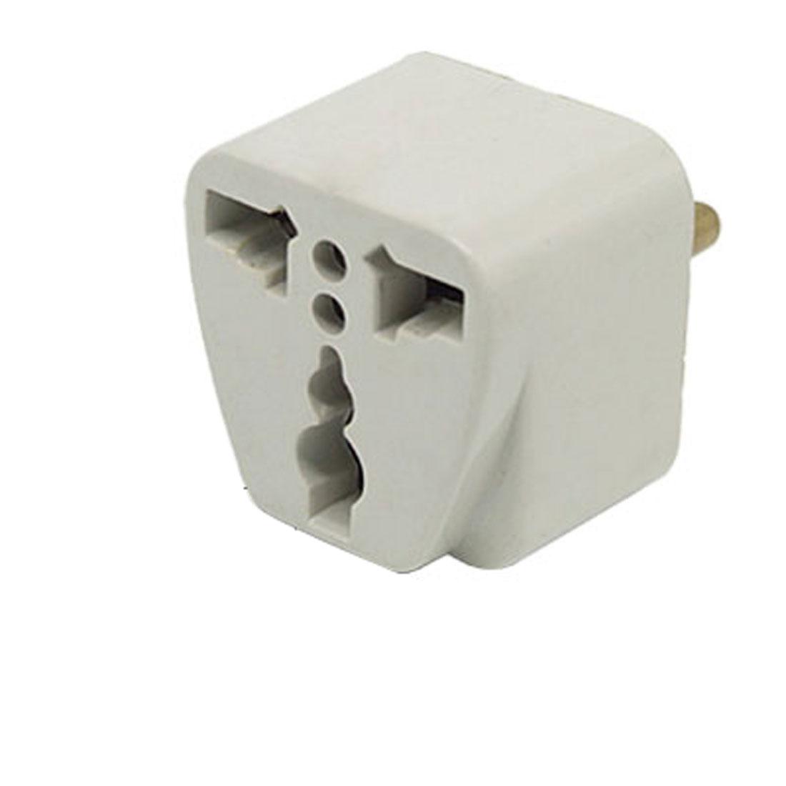 AC 250V 5A EU Plug to AU US UK Travel Wall AC Power Adapter