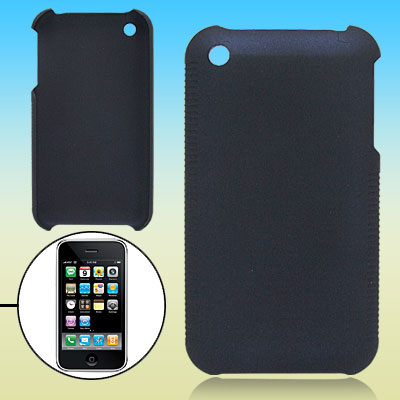 Dark Blue Hard Plastic Protective Case for Apple iPhone 3G / 3GS