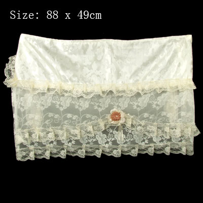 Arcadianism Flower Lace Air-Conditioner Cover with String