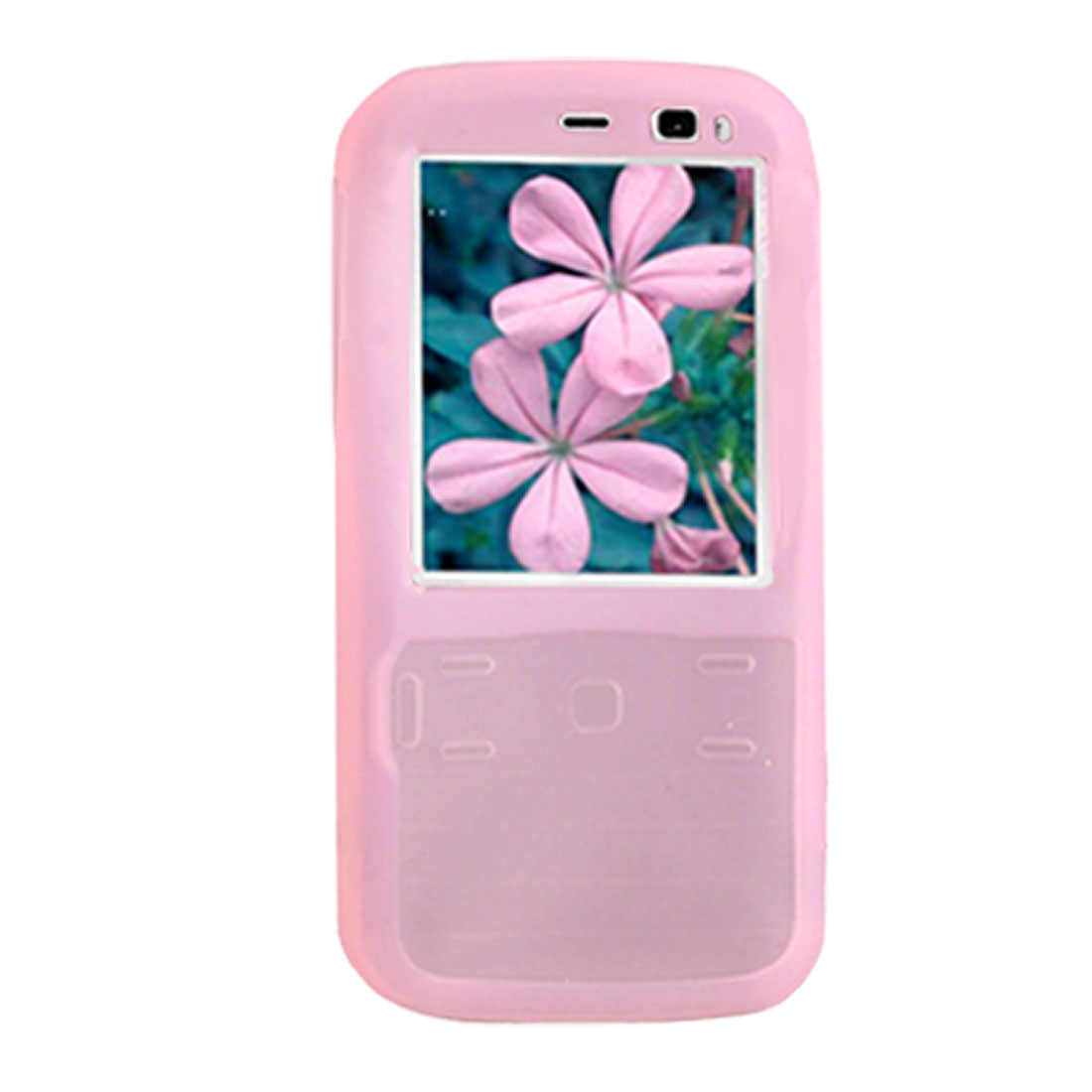 Pink Soft Silicone Case Cover Protector for Nokia N79