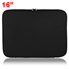 "14"" 14.1"" Black Neoprene Dual Zipper Laptop Notebook Sleeve Case Bag for HP"