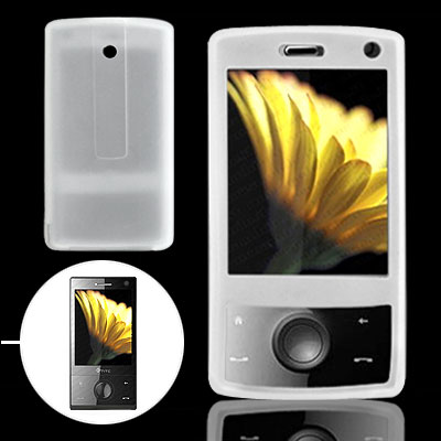 Clear White Silicone Skin for Dopod HTC P3702