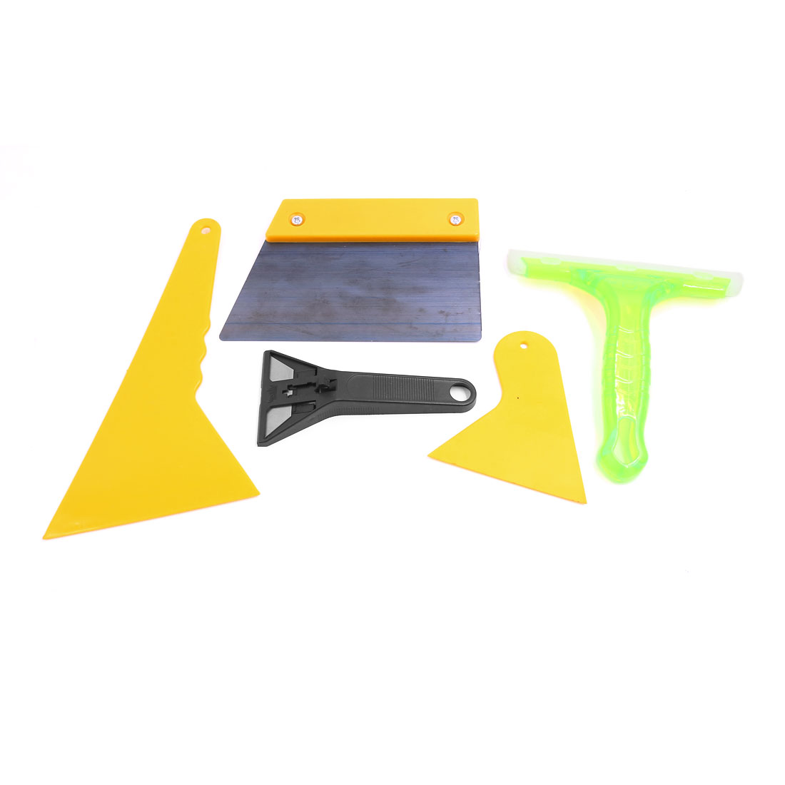 5PCS Car Truck Window Tinting Tint Film Cleaning Scraper Tools Kit