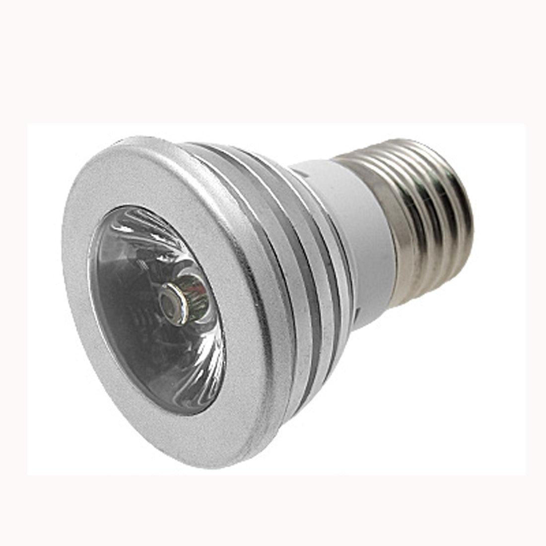 E27 Multicolor LED Light Bulb with Remote Control