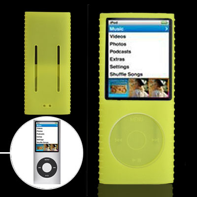 Kelly Anti-slip Silicone Case for iPod Nano Chromatic 4th