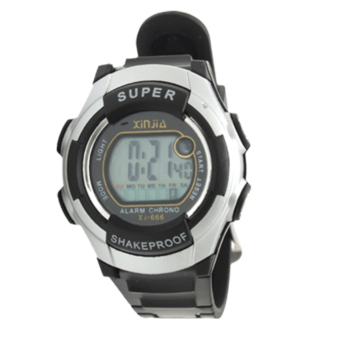 Electronic Children's Sports LCD Digital Alarm Wrist Watch