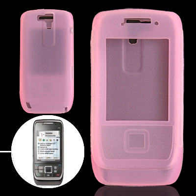 Pink Silicone Mobile Phone Case for Nokia E66