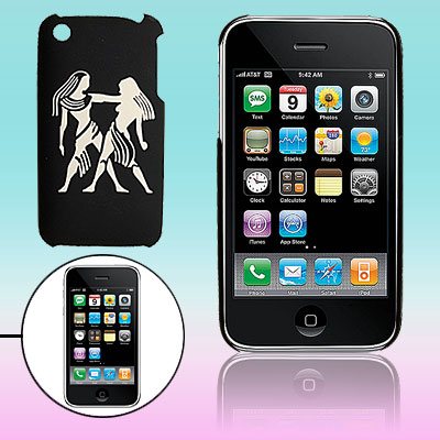 Hard Plastic Back Sculptural Women Pattern Case for iPhone 3G / 3GS