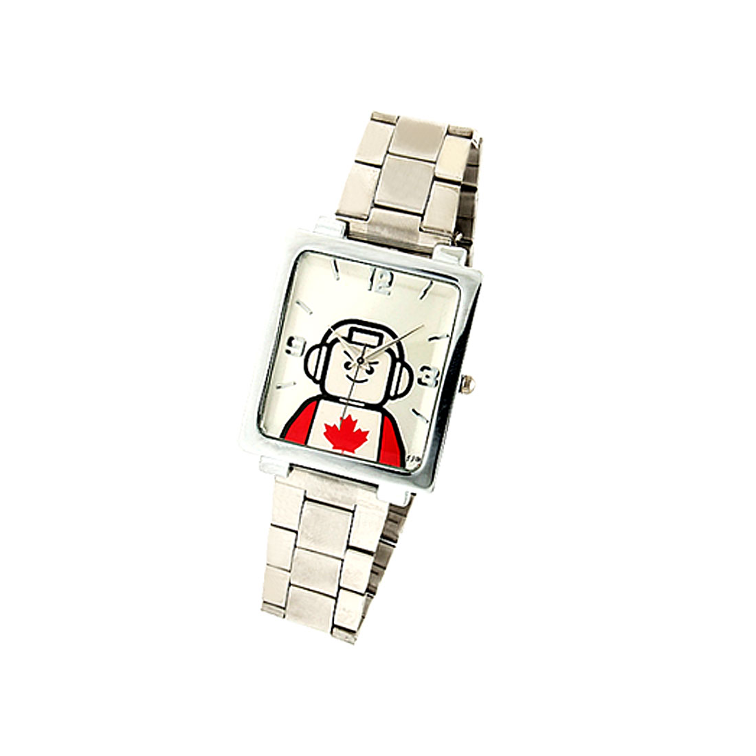 Canadian Astronaut Stainless Steel Men's Wrist Watch