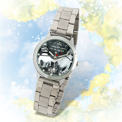 Steel Girl's Hand in Hand Cool Wrist Watch
