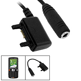 3.5mm Headphone Adapter for Sony Ericsson W810i / W580i