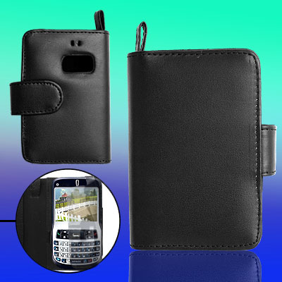 Leather Case Pouch with Strap Credit Card Holder for Dopod C720