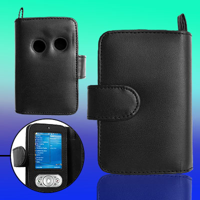 Magnetic Closed Soft Leather Case Pouch for Dopod 818