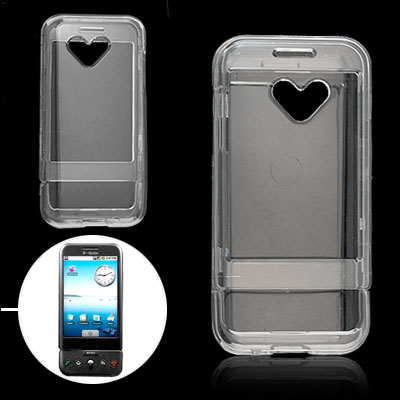Clear Crystal Plastic Hard Case for Google G1