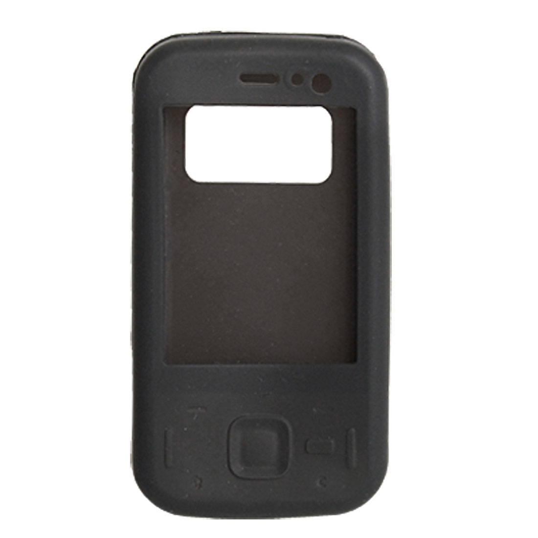 Black Cool Silicone Case Protector for Nokia N85