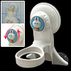 Cute Rabbit Bathroom Bath Liquid Extruding Holder Suction Stick Bracket