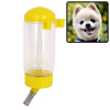 Pet Doggie Puppy Hamster Cage Water Feeder Bottle Yellow
