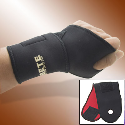 Sports Neoprene Hook and Loop Fastener Adjustable Wrist Support Protector