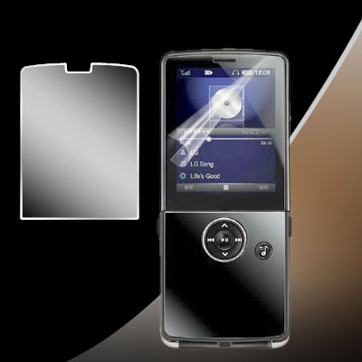 Mobile Cell Phone LCD Screen Protector for LG Electronics KM380 KM-380