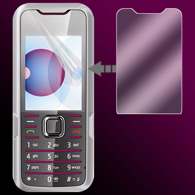 Clear LCD Screen Protector for Nokia 7210c Supernova